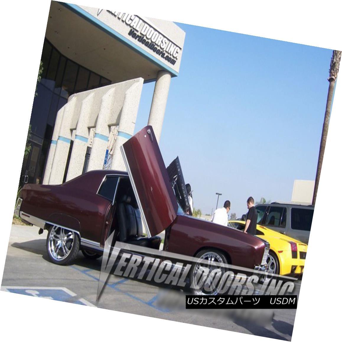 ガルウィングキット Chevy Monte Carlo 70-72 Lambo Kit Vertical Doors 71 シボレーモンテカルロ70-72ランボキット垂直ドア71