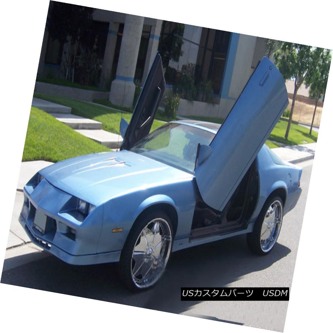 ガルウィングキット Direct Bolt On Vertical Lambo Doors Hinges Kit With Warranty VDCCHEVYCAM8292 VDCCHEVYCAM829 2の縦型ランボドアヒンジキットのダイレクトボルト