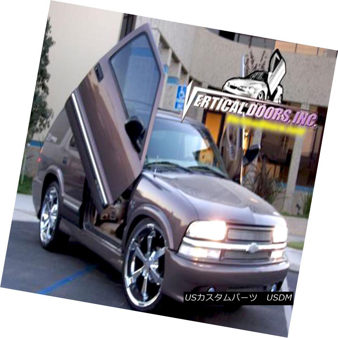 ガルウィングキット Vertical Doors Inc. Bolt-On Lambo Kit for Chevrolet Blazer 95-05 Vertical Doors Inc.シボレーブレイザー95-05のボルトオンランボキット