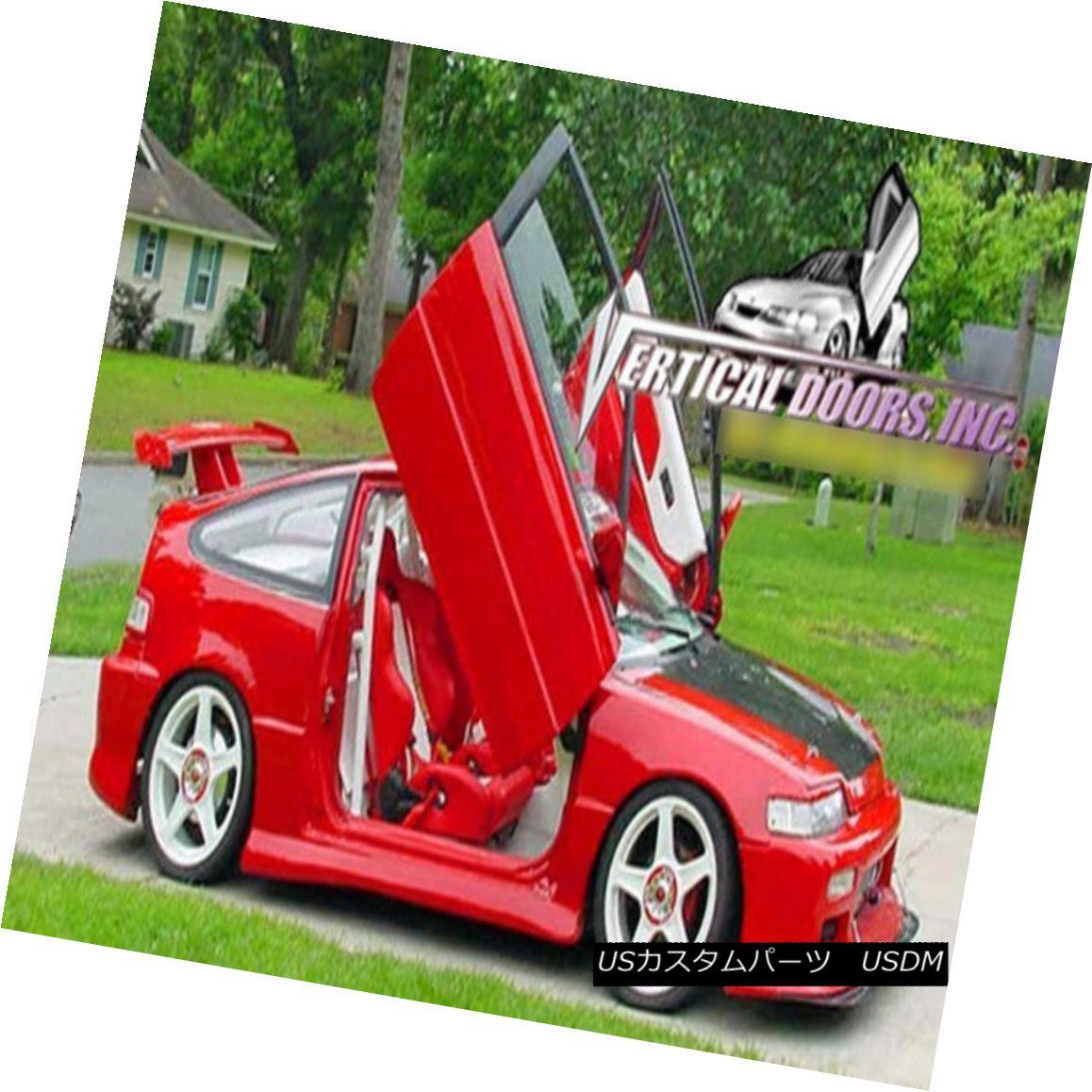 ガルウィングキット Vertical Doors Inc. Bolt-On Lambo Kit for Honda Civic / CRX 88-91 HB / 4 DR Vertical Doors Inc.ホンダシビック/ CRX 88-91 HB / 4 DRのボルトオンランボルギーニキット