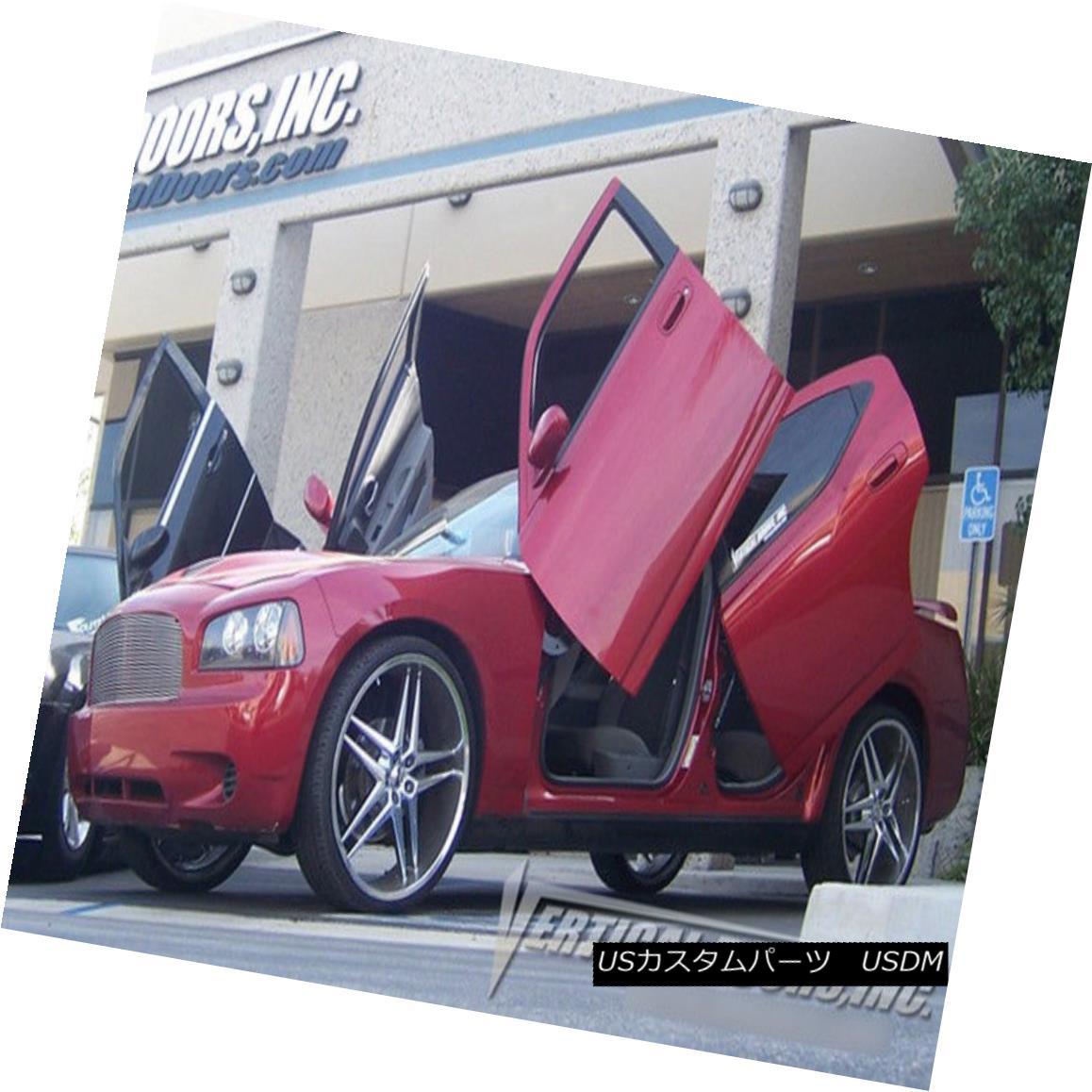 ガルウィングキット Vertical Doors Inc. Bolt-On Lambo Kit for Dodge Charger 05-10 Rear Vertical Doors Inc. Dodge Charger用Bolt-On Lamboキット05-10リア