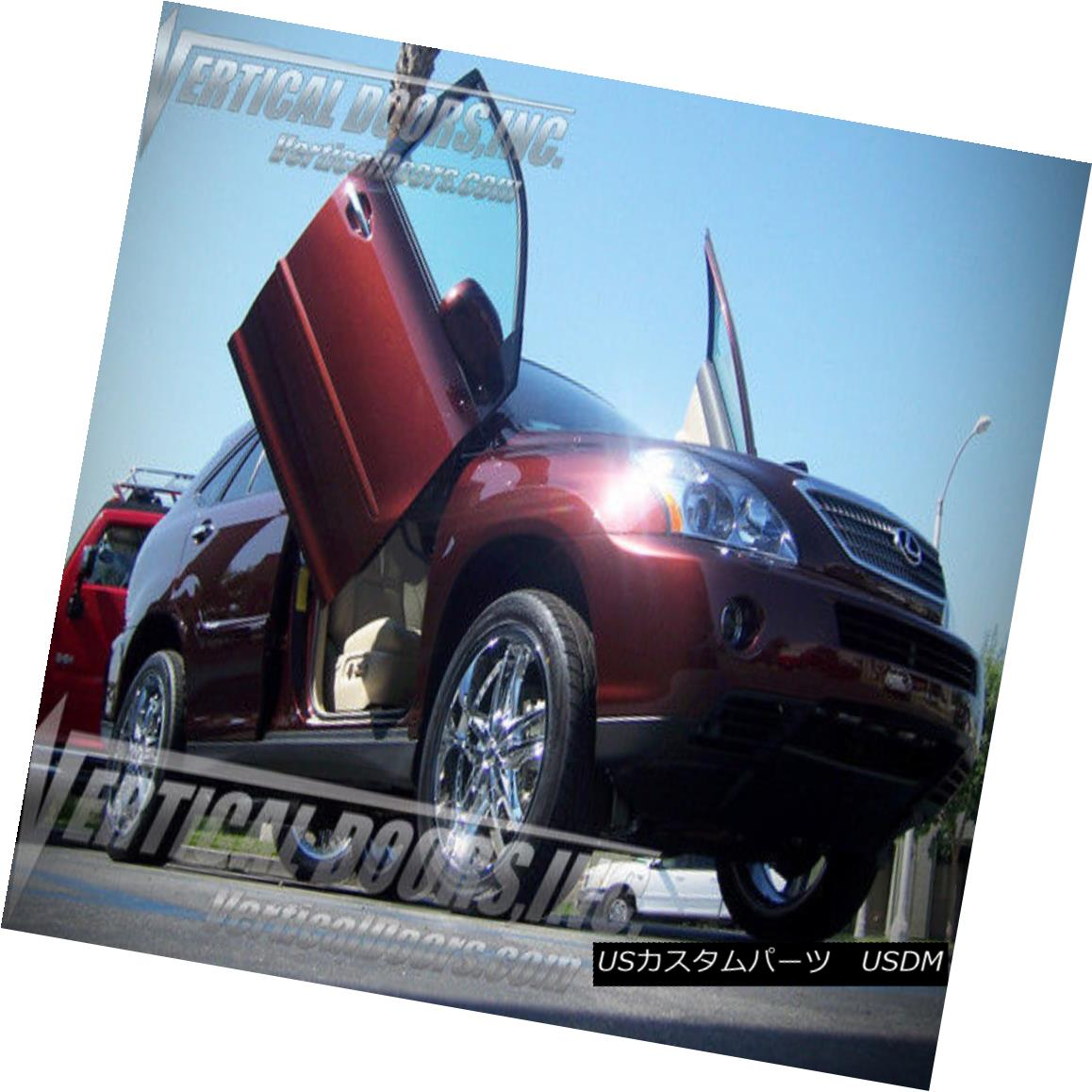 ガルウィングキット VDCLEXRX0409 Direct Bolt On Vertical Lambo Doors Hinges Kit With Warranty VDCLEXRX0409保証付き垂直Lamboドアヒンジキットのダイレクトボルト