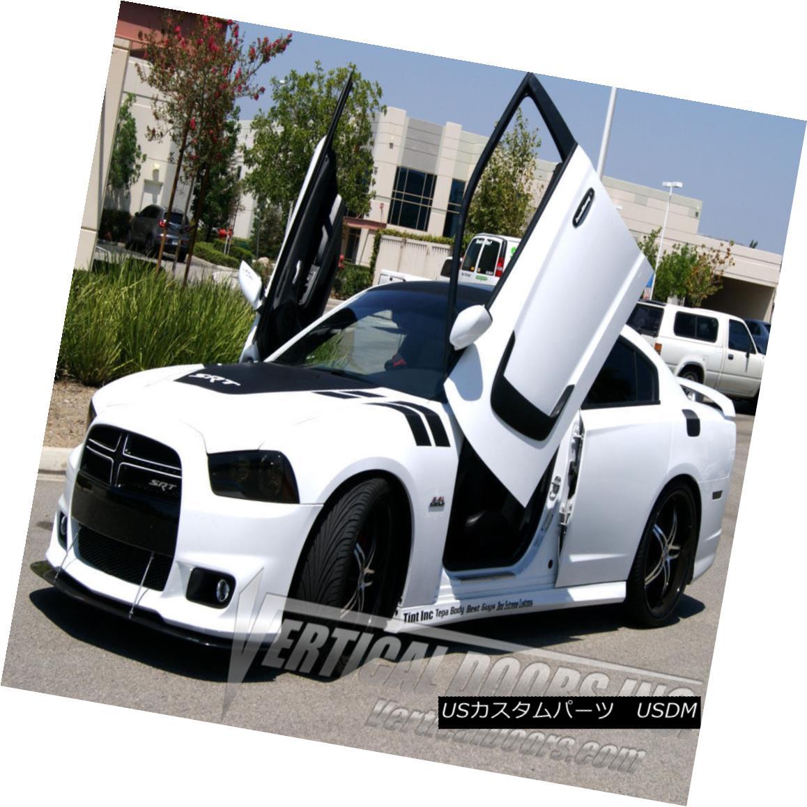 ガルウィングキット 2011-2016 Dodge Charger Bolt-on Vertical Doors Inc NO WELDING/ DIRECT BOLT-ON 2011-2016 Dodge Chargerボルトオン式垂直ドアInc溶接/直接ボルトオン