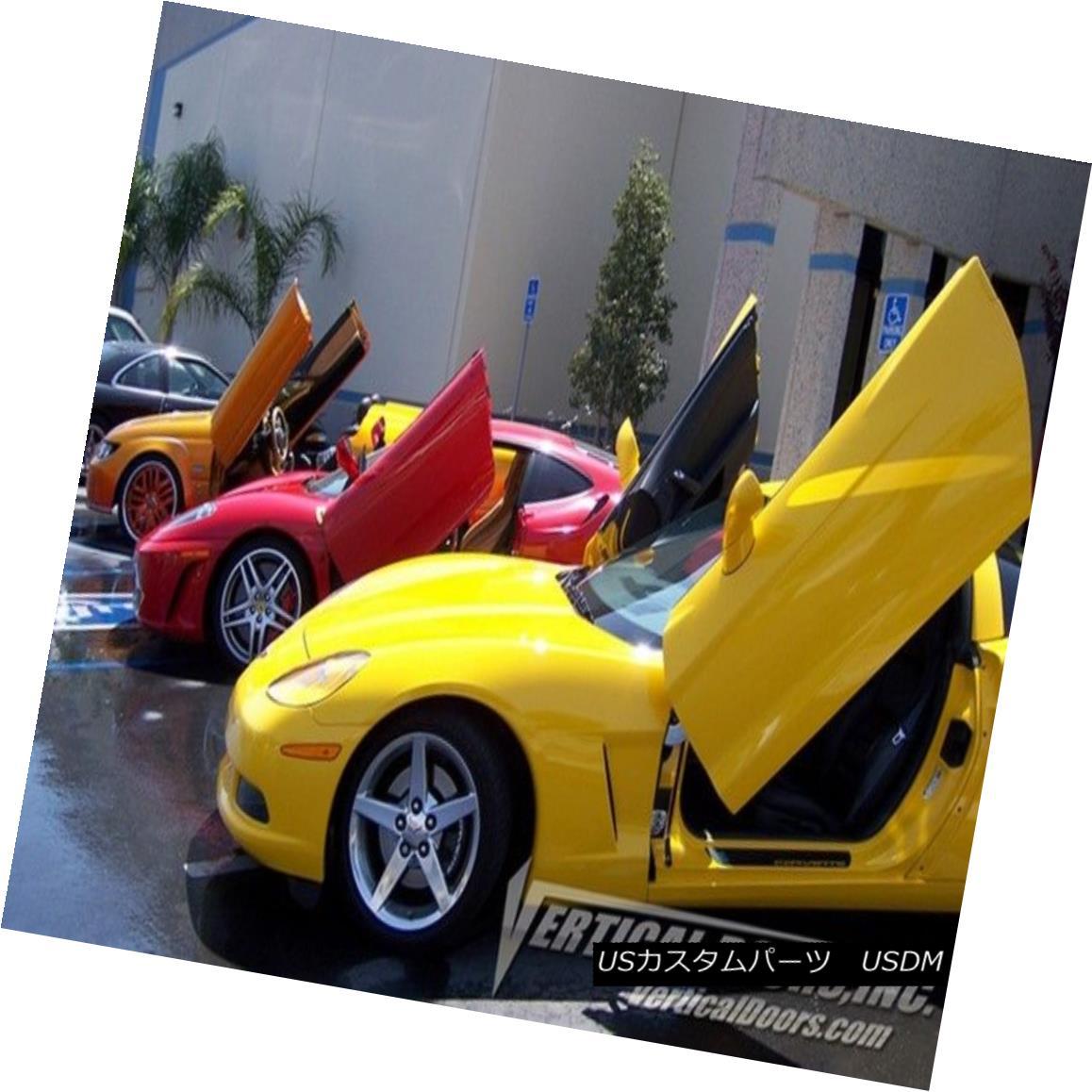 ガルウィングキット Direct Bolt On Vertical Lambo Doors Hingest Kit With Warranty VDCUK 垂直ランボルフトドアヒンジキットの直接ボルトVDSUK