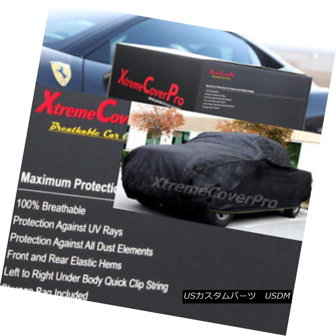 カーカバー 2016 2017 2018 GMC SIERRA 3500HD Double Cab 8FT Box BREATHABLE TRUCK COVER-BLACK 2016 2017 2018 GMC SIERRA 3500HDダブルキャブ8FTボックスBREATHABLE TRUCK COVER-BLACK