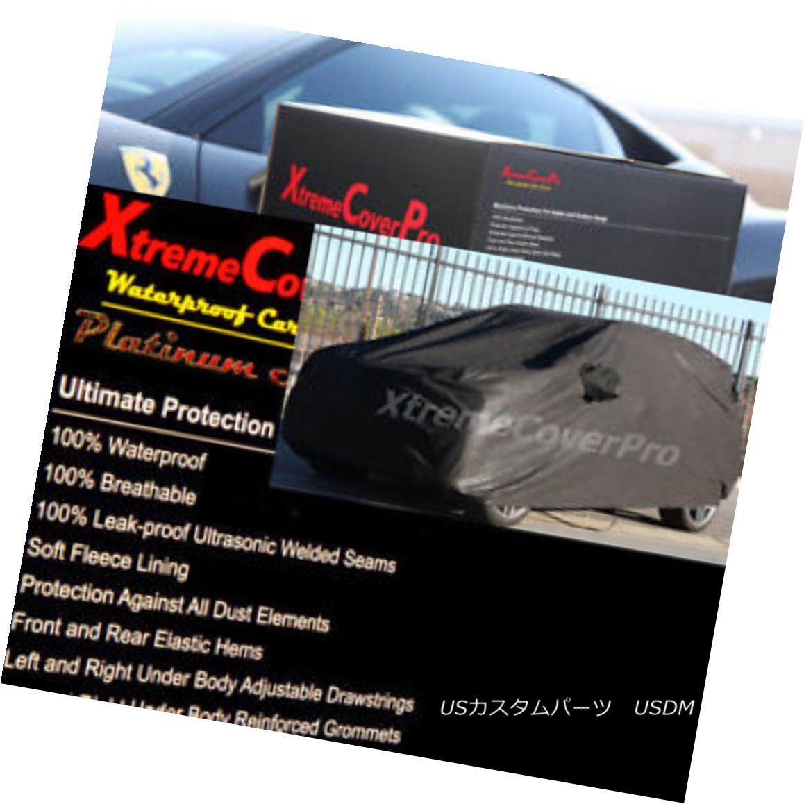 カーカバー 2016 2017 2018 VOLVO XC60 WATERPROOF CAR COVER W/MIRROR POCKET - BLACK 2016 2017 2018 VOLVO XC60ウォータープルーフカーカバーW /ミラーポケット - ブラック