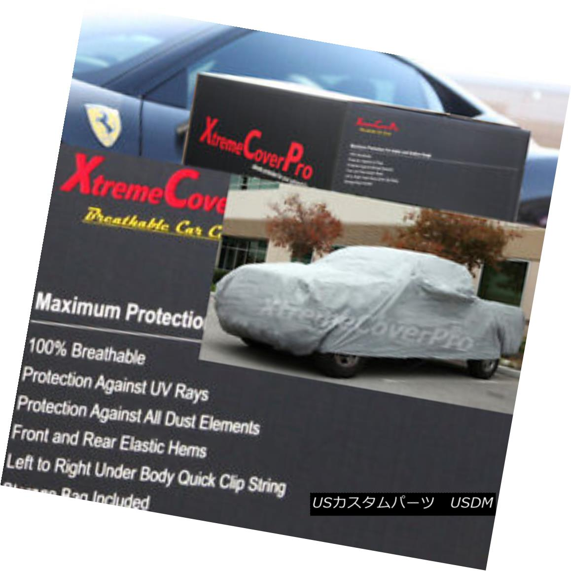 カーカバー 2018 GMC SIERRA 3500HD Double Cab 8FT Box / DUALLY BREATHABLE TRUCK COVER - GREY 2018 GMC SIERRA 3500HDダブルキャブ8FTボックス/ DUALLY BREATHABLE TRUCK COVER - グレー