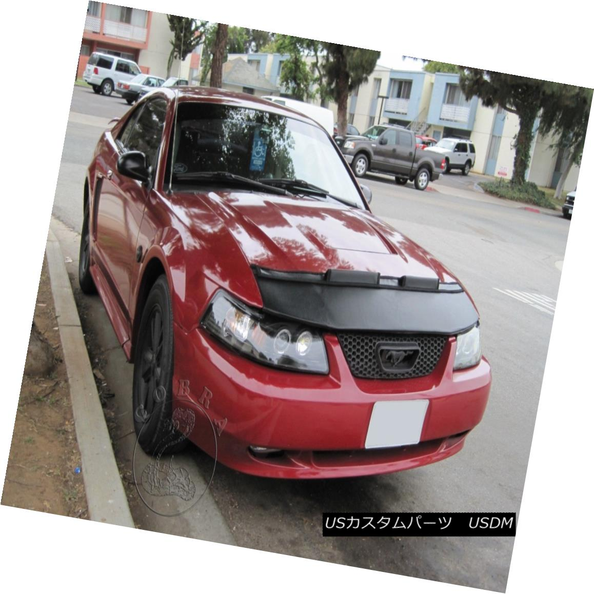 ノーズブラ 03 2000 FORD Bra Mask 1999 04 MUSTANG カー・ボンネット・フードブラ・マスク・フィットFORD 01 Fits フルブラ Bonnet Hood 02 01 MUSTANG 2000 04 Car 03 1999 02