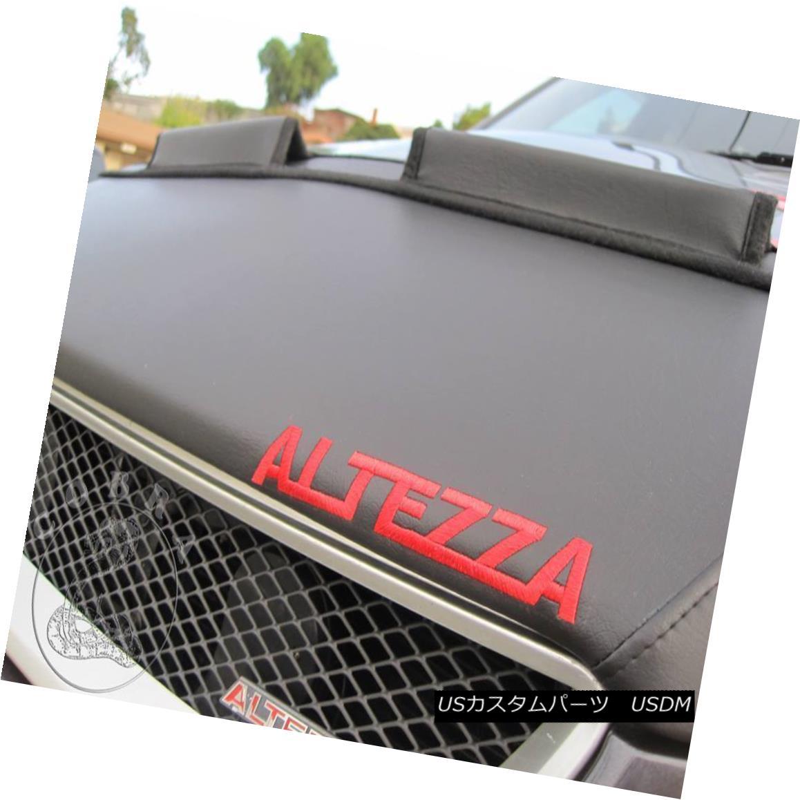 フルブラ ノーズブラ Car Hood Bra + LOGO Fits LEXUS IS300 IS200 IS Altezza 99 2000 01 02 03 04 05 Car Hood Bra +ロゴフィットLEXUS IS300 IS200 IS Altezza 99 2000 01 02 03 04 05