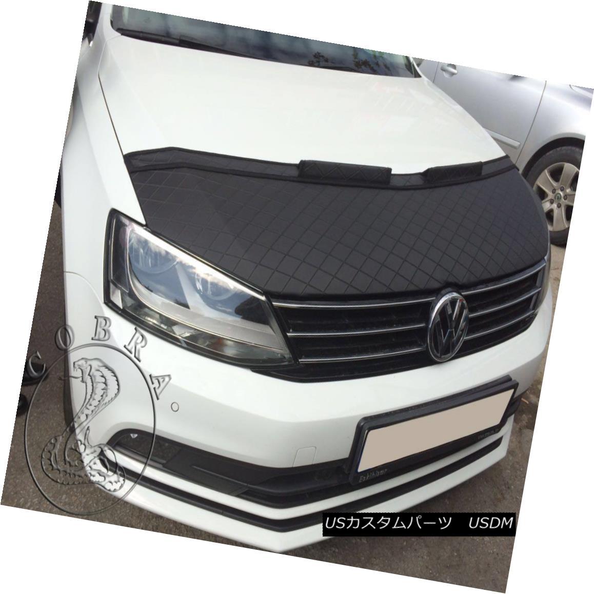 フルブラ ノーズブラ Car Hood Bra in DIAMOND Fits VW Volkswagen Jetta MK6 2011 12 13 14 15 16 17 18 DIAMONDのカーフードブラはVWに適合フォルクスワーゲンJetta MK6 2011 12 13 14 15 16 17 18