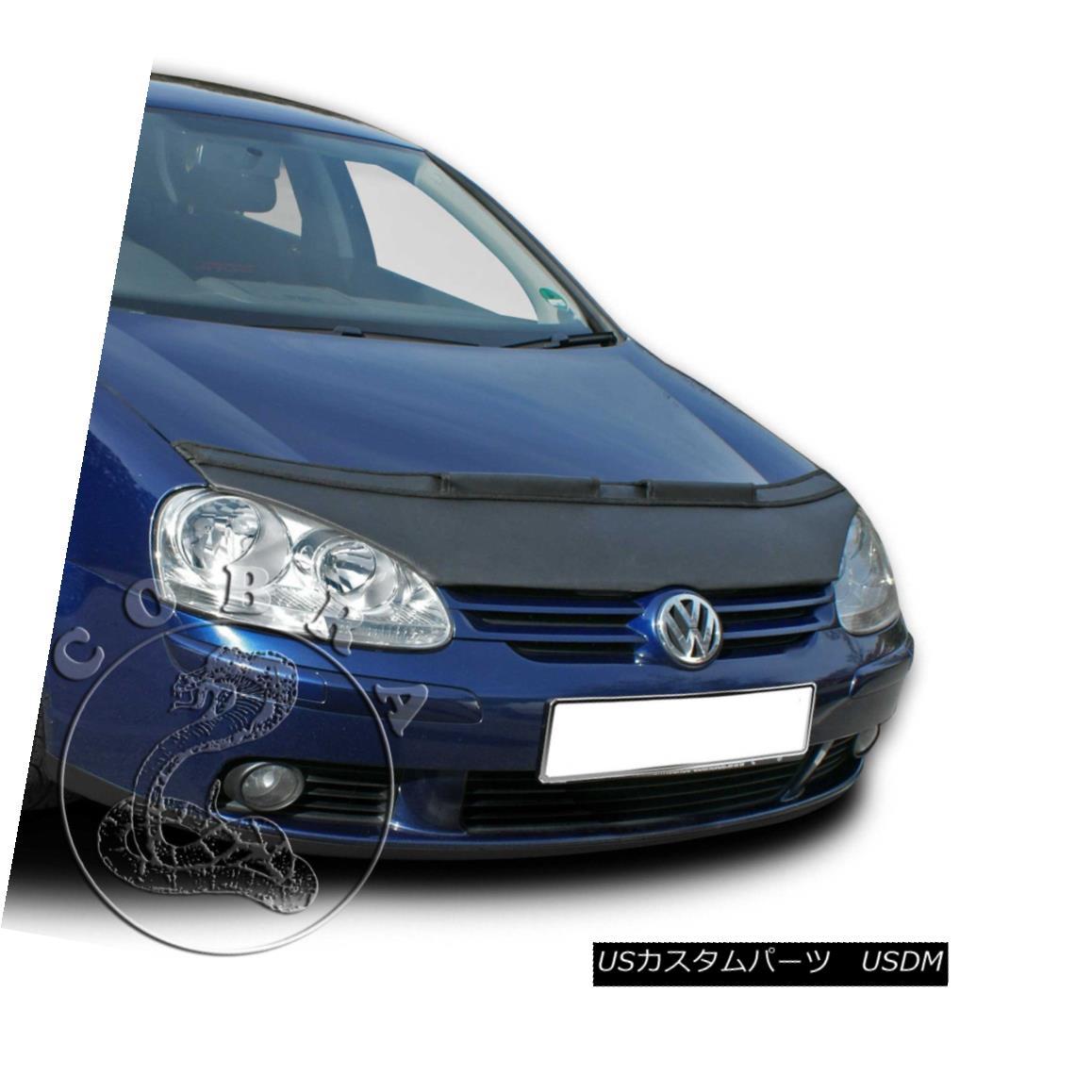 フルブラ ノーズブラ Car Bonnet Hood Bra Fits Volkswagen Golf 5 V MK5 GTI GLI 2006 06 07 08 09 2009 車ボンネットフードブラはフォルクスワーゲンゴルフ5 V MK5 GTI GLI 2006 06 07 08 09に適合