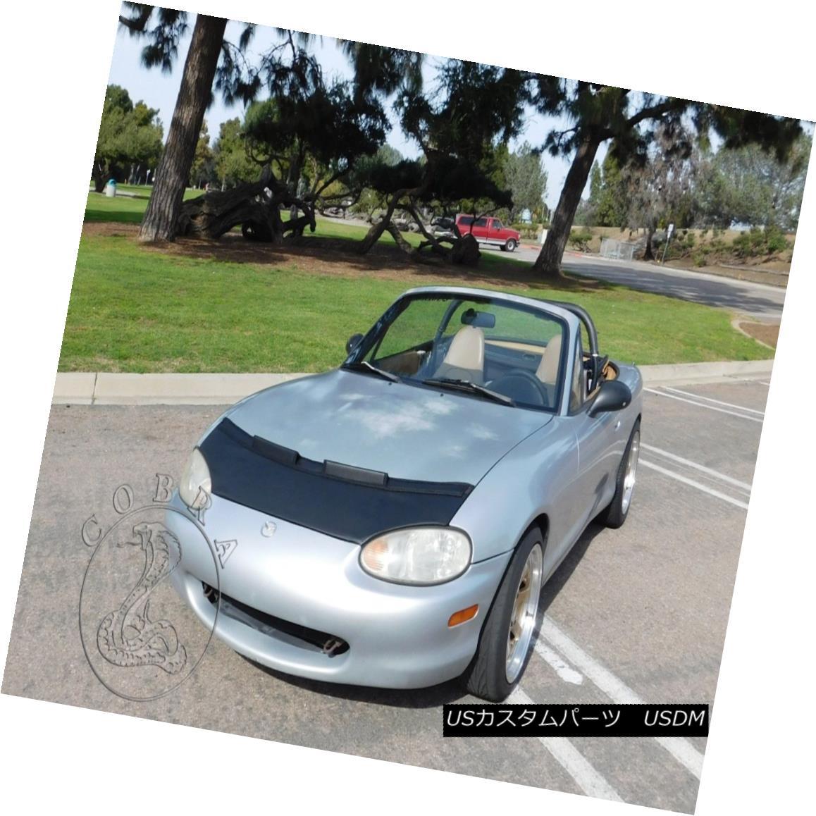 フルブラ ノーズブラ Car Bonnet Mask Hood Bra Fits MAZDA MIATA MX5 1999 2000 2001 2002 2003 2004 2005 カーボンネットマスクフードブラフィットMAZDA MIATA MX5 1999 2000 2001 2002 2003 2004 2005