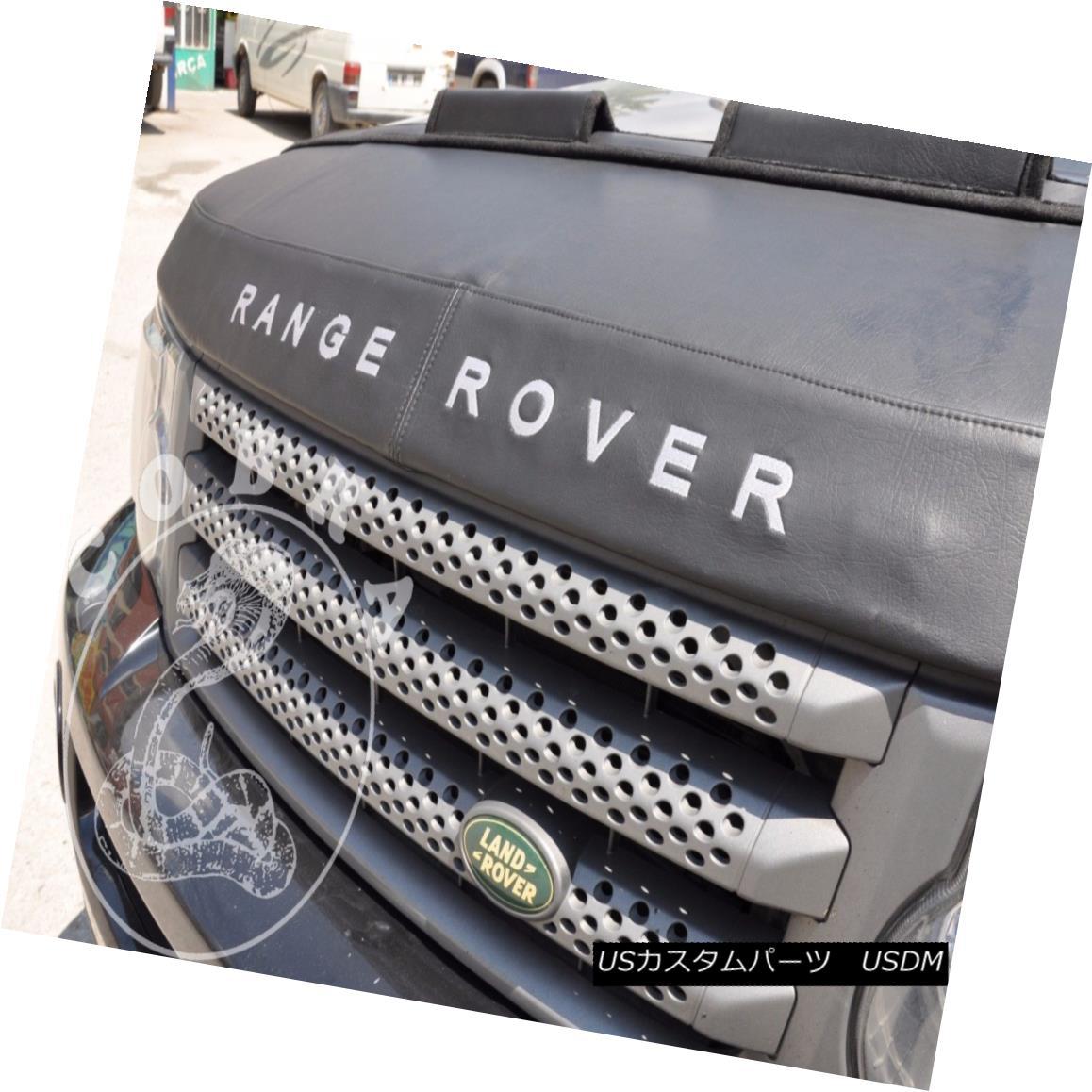 フルブラ ノーズブラ Car Hood Bra + LOGO Fits Land Range Rover Sport 04 05 06 07 08 09 10 11 12 車のフードブラジャー+ロゴは、土地のレンジローバースポーツに合う04 05 06 07 08 09 10 11 12