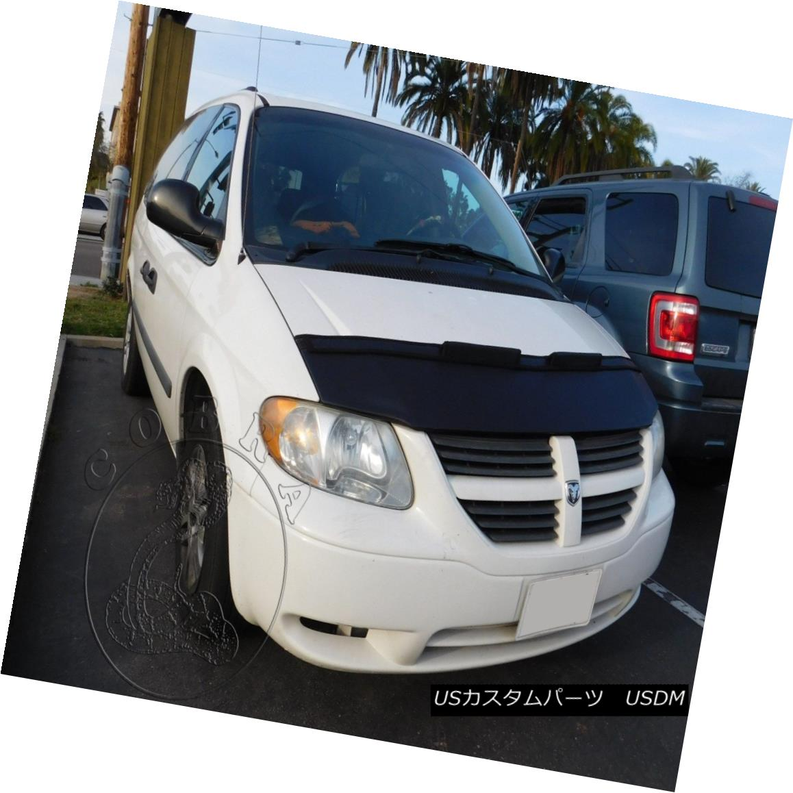 フルブラ ノーズブラ Car Hood Mask Bonnet Bra Fits DODGE CARAVAN 2001 2002 2003 2004 2005 2006 2007 Car Hood Maskボンネット・ブラ・フィットDODGE CARAVAN 2001 2002 2003 2004 2005 2006 2007