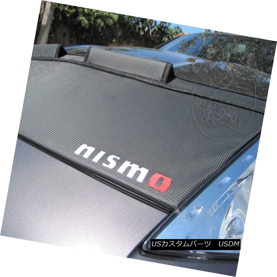フルブラ ノーズブラ Car Hood Bonnet Bra Fits Nissan 370Z 2009 10 11 12 13 14 15 16 CARBON + NISMO Car Hoodボンネットブラは日産370Zにフィット10 11 12 13 14 15 16 CARBON + NISMO
