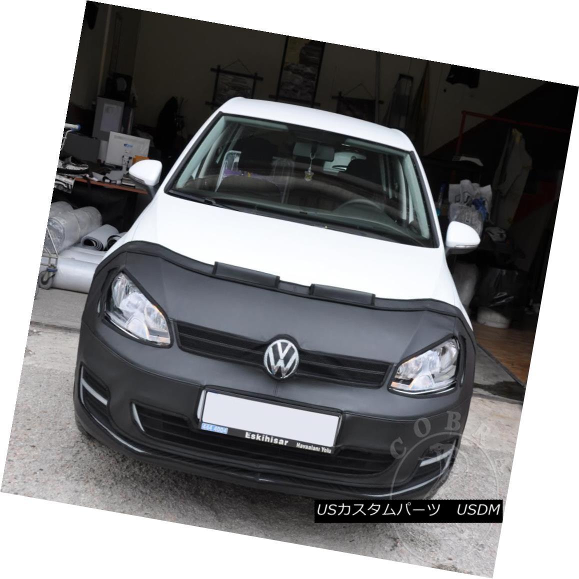 フルブラ ノーズブラ FULL BRA MASK Fits VW Volkswagen Golf VII MK7 2012 2013 2014 2015 2016 FULL BRA MASKはVWに適合フォルクスワーゲンゴルフVII MK7 2012 2013 2014 2015 2016