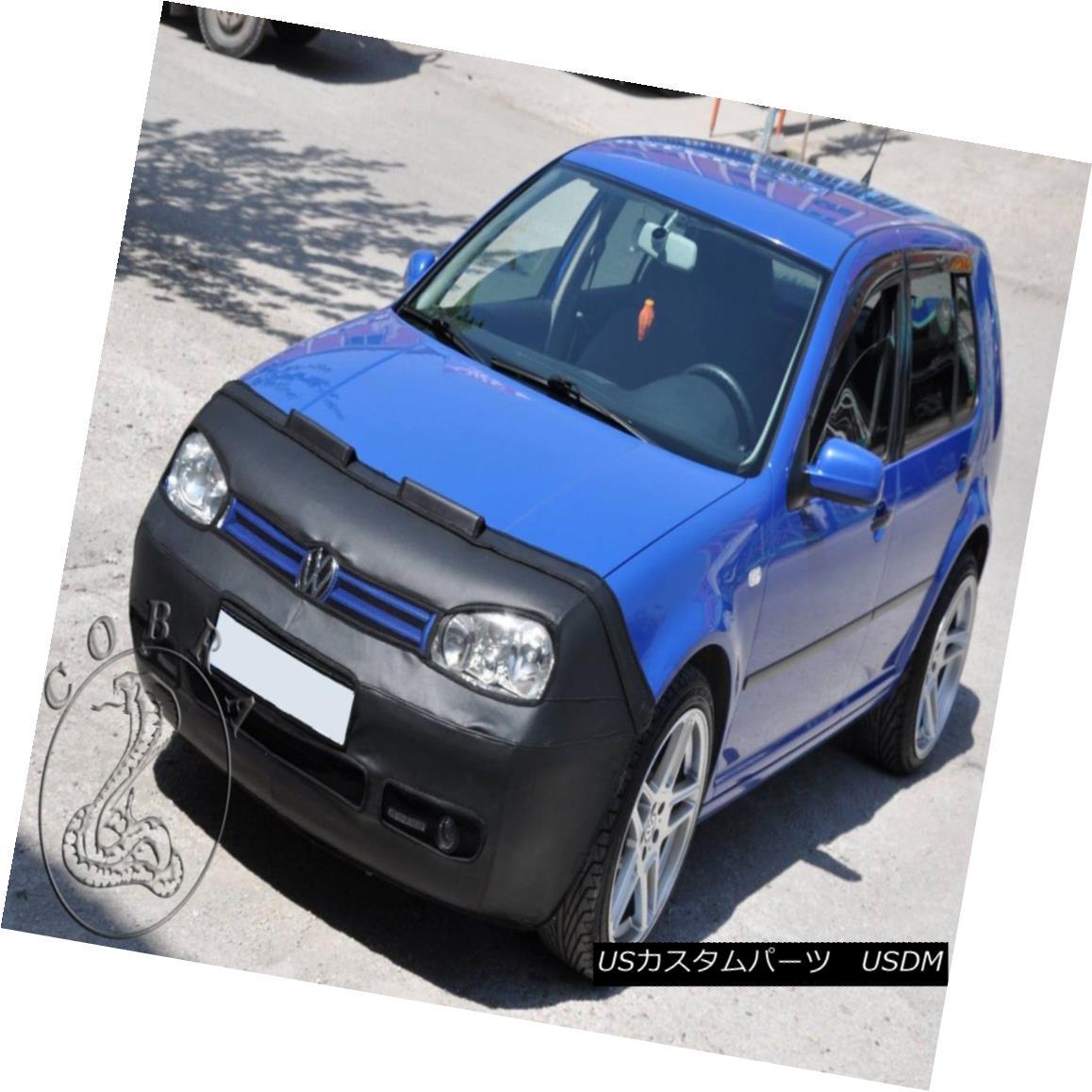 フルブラ ノーズブラ FULL BRA MASK Fits VW Volkswagen Golf 4 IV Rabbit BRA 98 99 00 01 02 03 FULL BRA MASKはVWに適合フォルクスワーゲンゴルフ4 IVウサギBRA 98 99 00 01 02 03