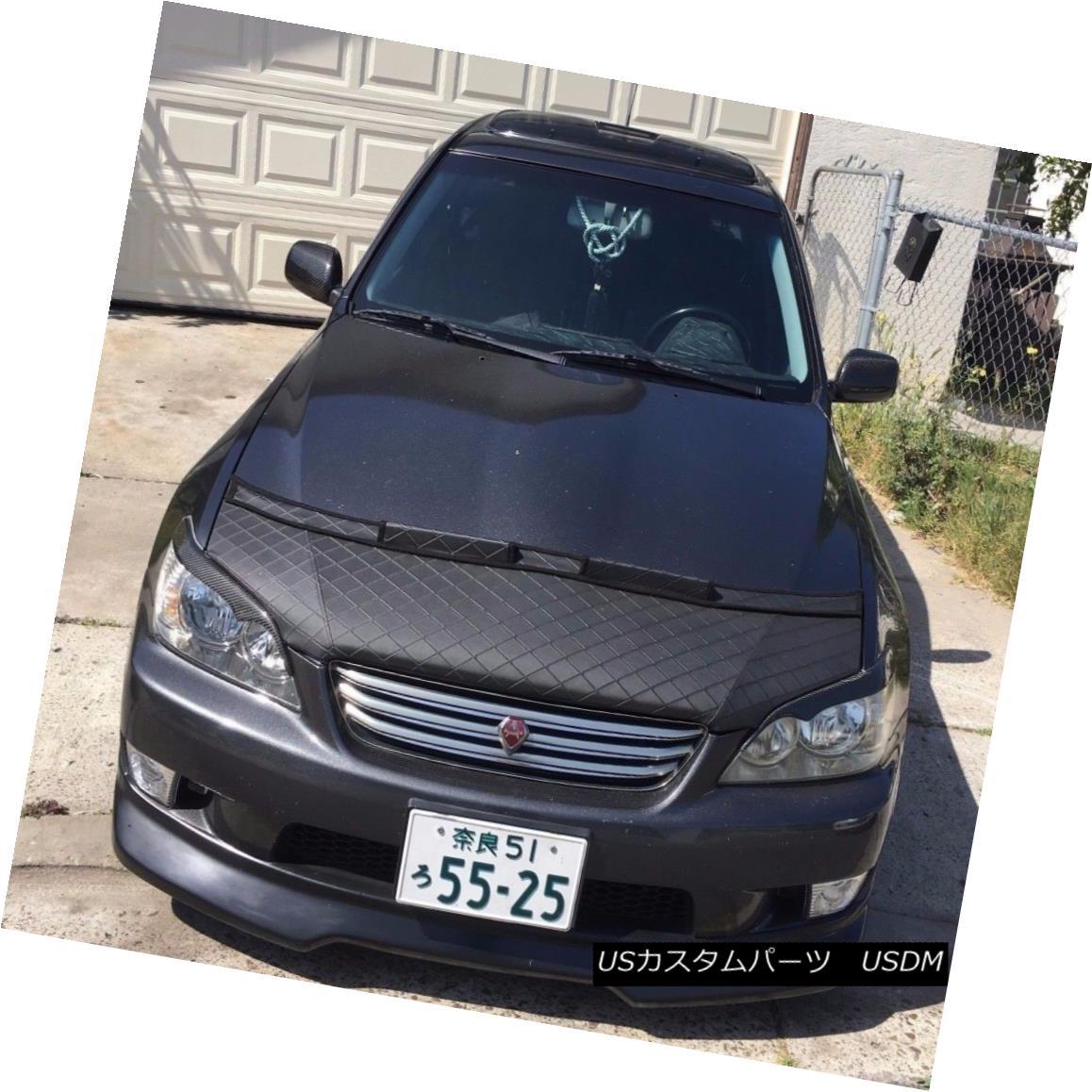 フルブラ ノーズブラ Car Hood Bra In DIAMOND Fits LEXUS IS300 IS200 IS Altezza 99 2000 01 02 03 04 05 カーフードブラジャーDIAMONDフィットLEXUS IS300 IS200 IS Altezza 99 2000 01 02 03 04 05