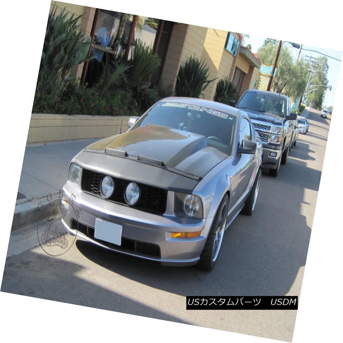 Car Hood Mask Bonnet Bra Fits Ford Mustang GT 2013 2014