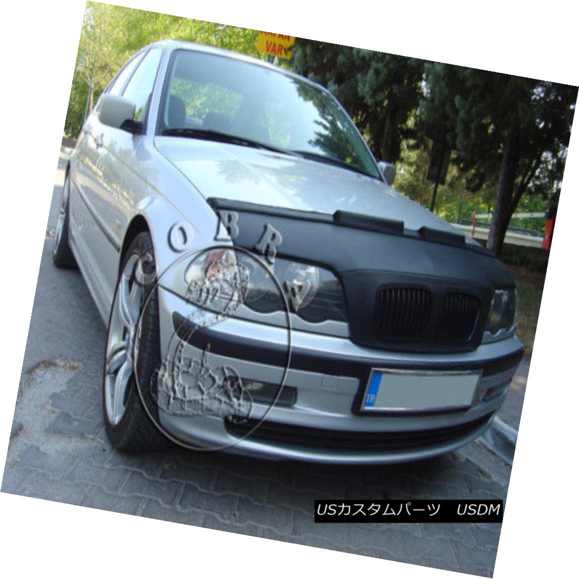 フルブラ ノーズブラ Car Bra Bonnet Hood Mask Fits BMW 3 E46 Coupe & Sedan 98 99 00 01 Car BraボンネットフードマスクBMW 3 E46 Coupe& セダン98 99 00 01