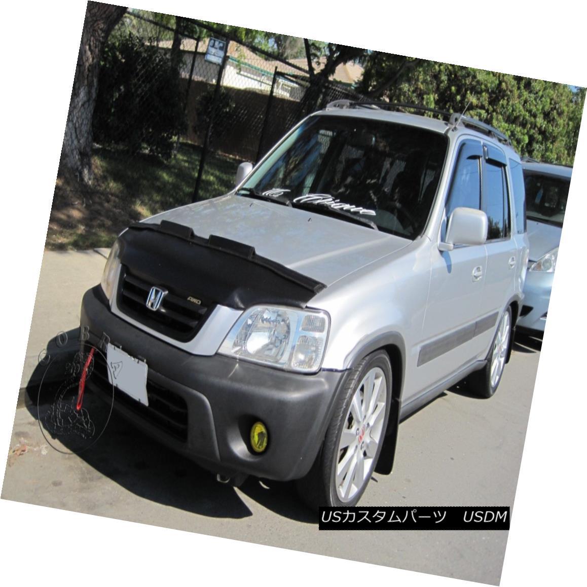 フルブラ ノーズブラ Car Bonnet Mask Hood Bra Fits Honda CR-V 1997 1998 1999 2000 2001 カーボンネットマスクフードブラはホンダCR-Vに適合1997 1997 1999 2000 2001