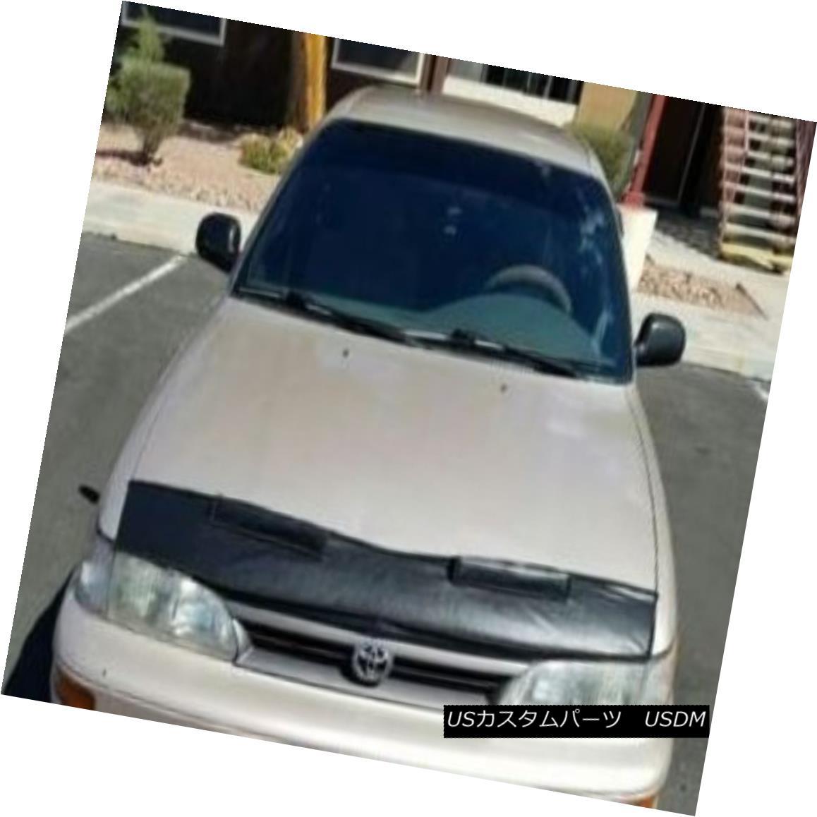 フルブラ ノーズブラ Mini Mask Bra Hood cover Fits Toyota Corolla 1993 thru 1997 Sedan & Wagon ミニマスクブラジャーフードカバートヨタカローラ1993?1997年セダン& ワゴン