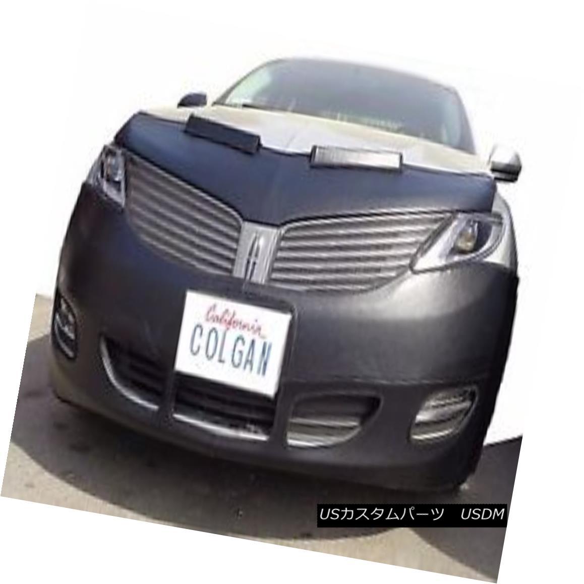 フルブラ ノーズブラ Colgan Front End Mask Bra 2pc. Fits Lincoln MKZ 2013-2016 W/O Lic.Plate コルガンフロントエンドマスクブラ2pc リンカーンMKZ 2013-2016 W / O Lic.Plateに適合