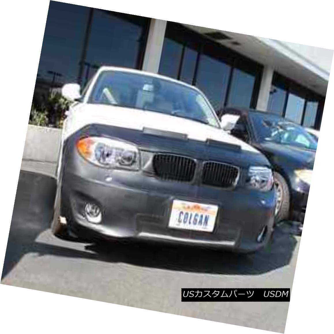 フルブラ ノーズブラ Colgan Front End Mask Bra 2pc. Fits BMW 128i 2012-13 W/O Lic.Plate W/HL Washer コルガンフロントエンドマスクブラ2pc BMW 128i 2012-13 W / O Lic.Plate W / HLワッシャーに適合