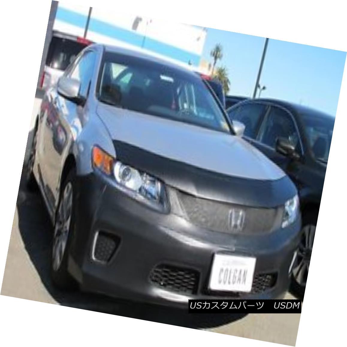 フルブラ ノーズブラ Colgan Front End Mask Bra 2pc. Fits Honda Accord Coupe EX,EXL&LX-S W/O TAG 13-15 コルガンフロントエンドマスクブラ2pc ホンダアコードクーペEX、EXL&LX-S W / Oタグ13-15に適合