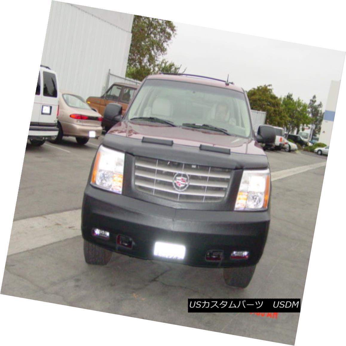 フルブラ ノーズブラ Colgan Front End Mask Bra 2pc. Fits Cadillac Escalade 2002-2004 W/License コルガンフロントエンドマスクブラ2pc Cadillac Escalade 2002-2004 W / Licenseに適合