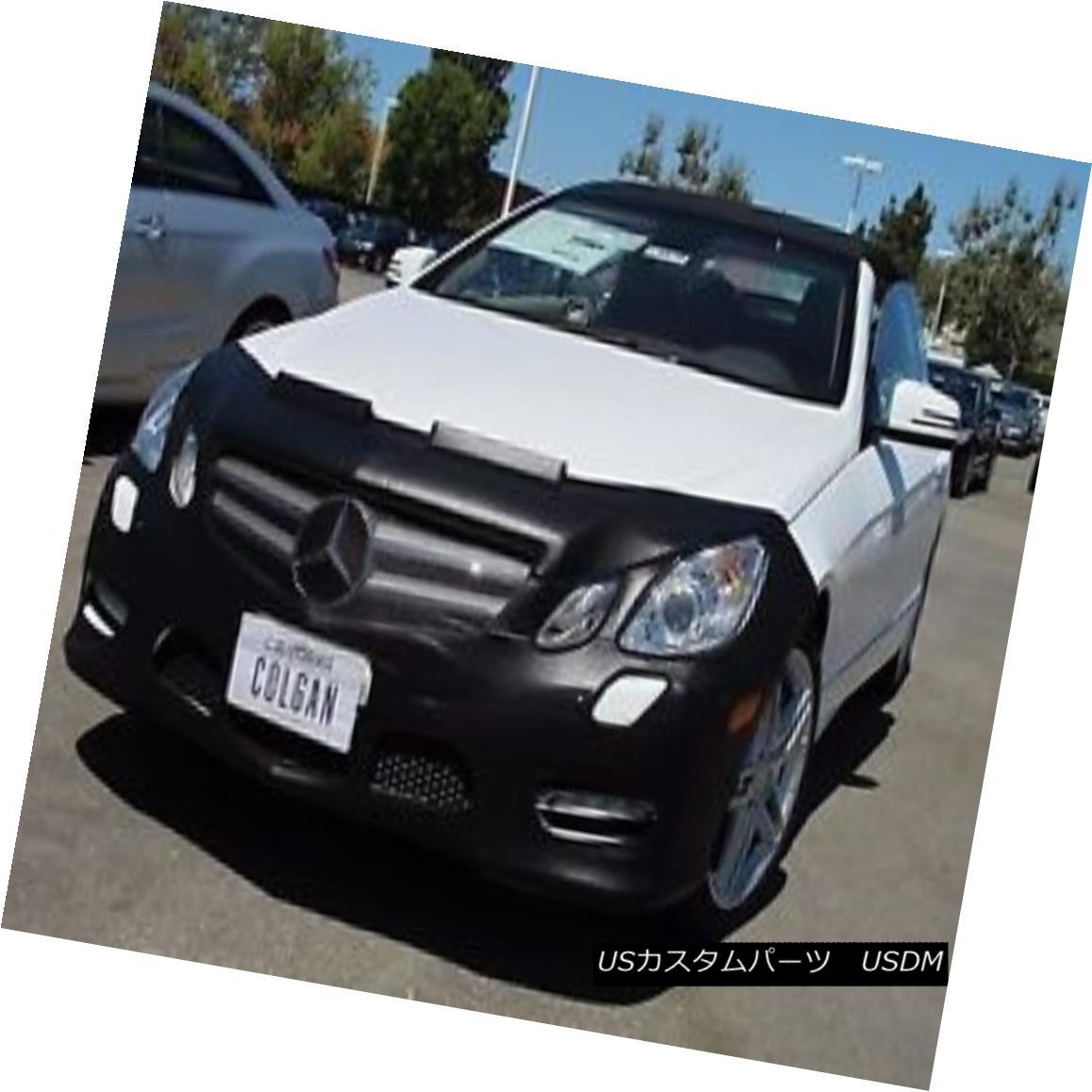 フルブラ ノーズブラ Colgan Front End Mask Bra 2pc. Fits Mercedes-Benz E63 W/License Plate 2007-2009 コルガンフロントエンドマスクブラ2pc メルセデスベンツE63 W /ナンバープレート2007-2009に適合