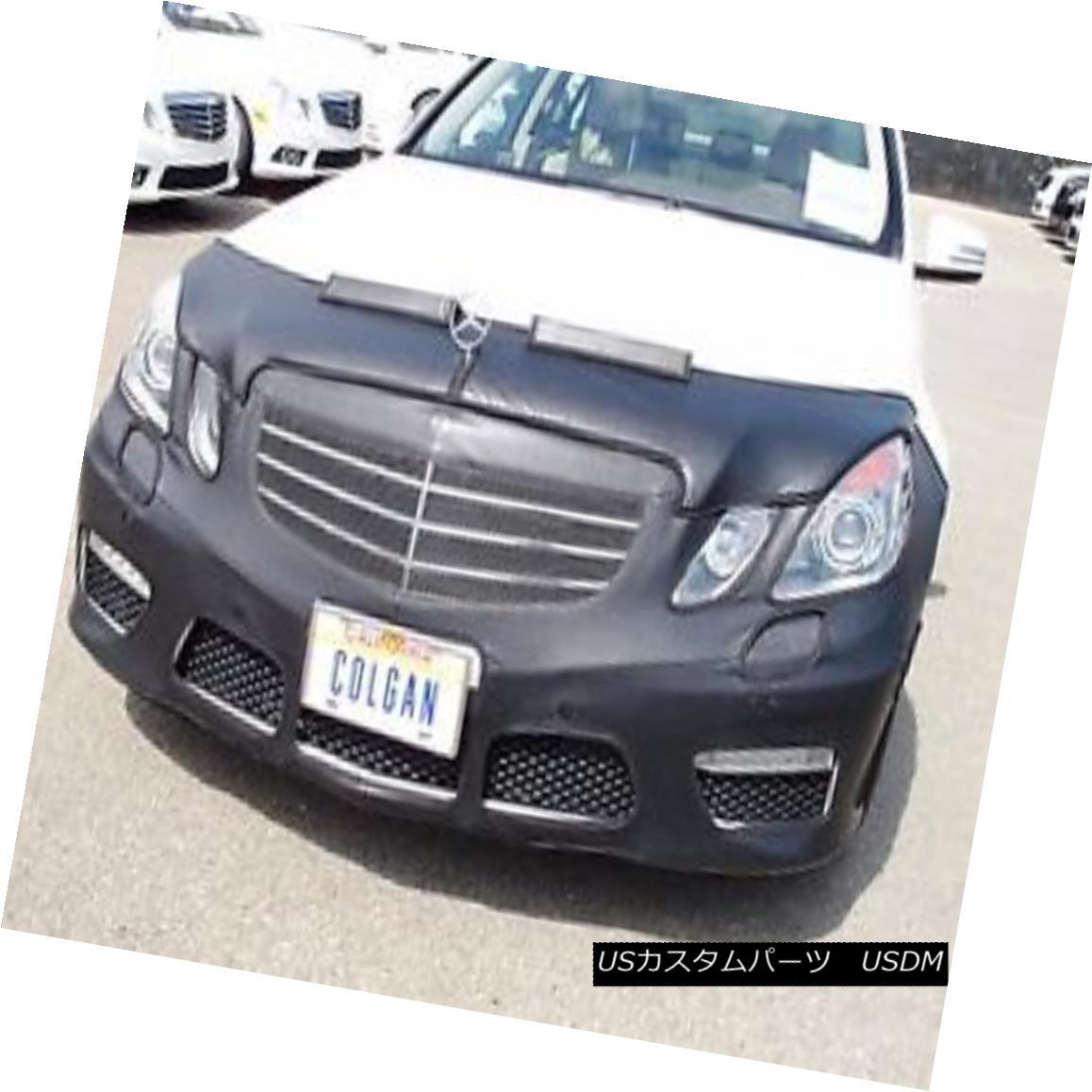 フルブラ ノーズブラ Colgan Front End Mask Bra 2pc. Fits Mercedes-Benz E63 W/Lic.Plate 2010-2012 コルガンフロントエンドマスクブラ2pc メルセデスベンツE63 W / Lic.Plate 2010-2012に適合