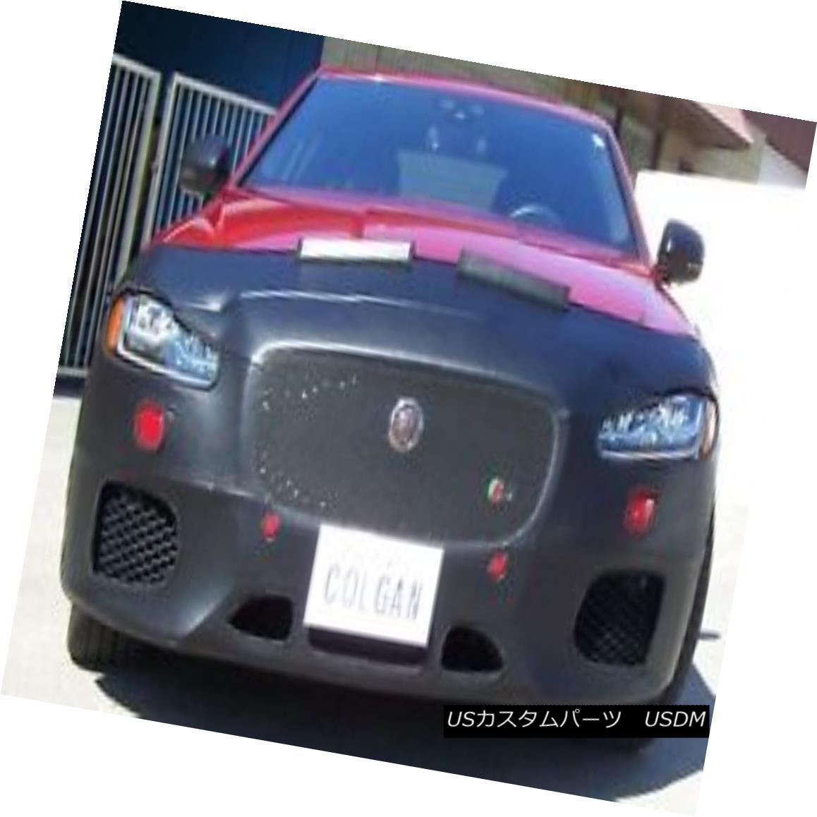 フルブラ ノーズブラ Colgan Front End Mask Bra 2pc. Fits Jaguar XF-S Sed.& XF SportBk 16-18 W/O TAG  コルガンフロントエンドマスクブラ2pc Jaguar XF-S Sed。& XF SportBk 16-18 W / O TAG