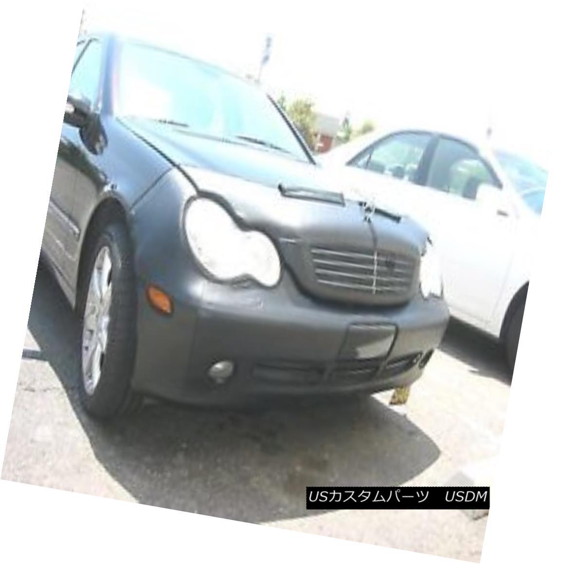 フルブラ ノーズブラ Colgan Front End Mask Bra 2pc. Fits Mercedes-Benz C230 Sedn 02-04 W/O Tag W/wash コルガンフロントエンドマスクブラ2pc メルセデスベンツC230 Sednに適合02/04 W / OタグW /ウォッシュ