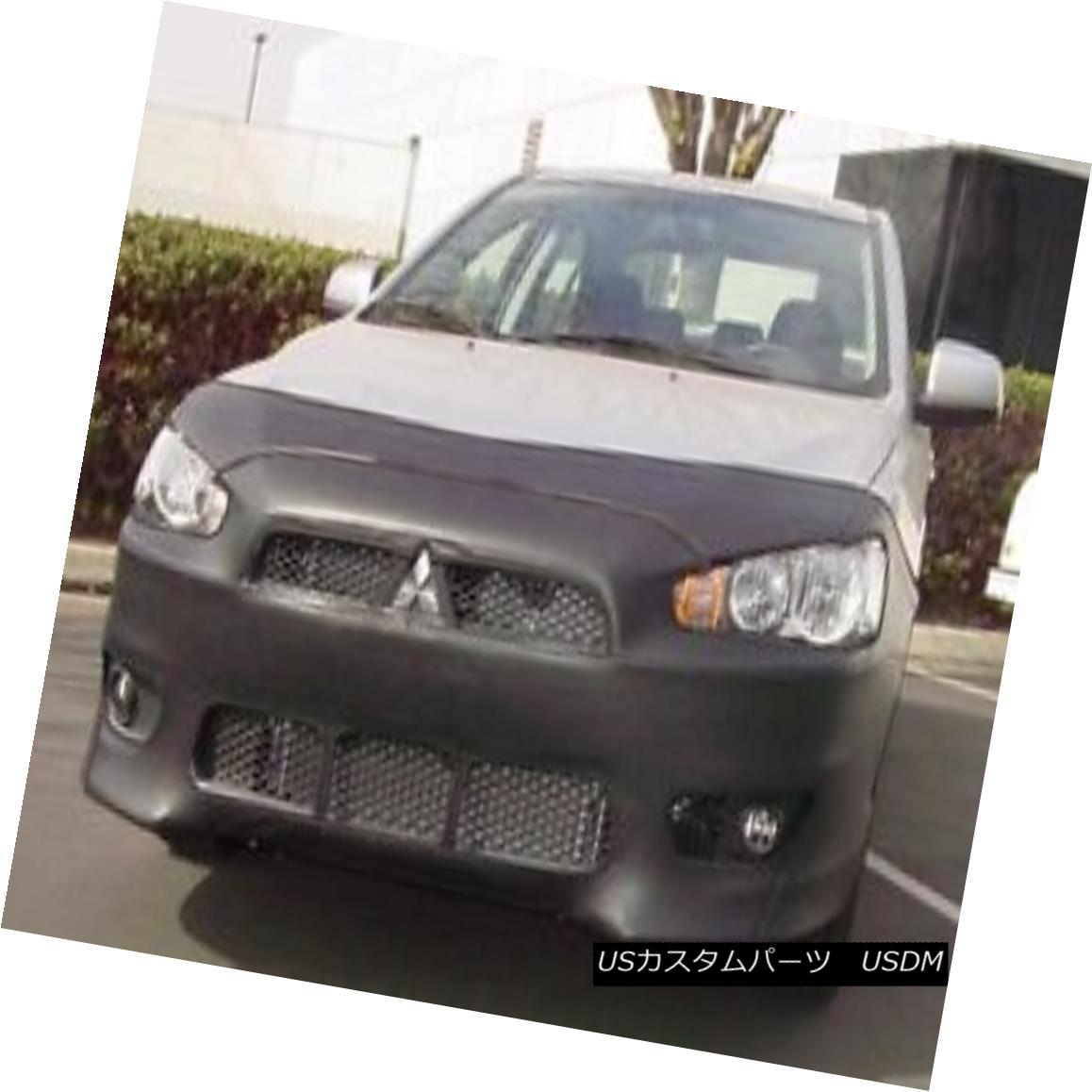 フルブラ ノーズブラ Colgan Front End Mask Bra 2pc. Fits Mitsubishi Lancer GTS 2008-2013 W/O Li.Plate コルガンフロントエンドマスクブラ2pc 三菱ランサーGTS 2008-2013 W / O Li.Plateに適合