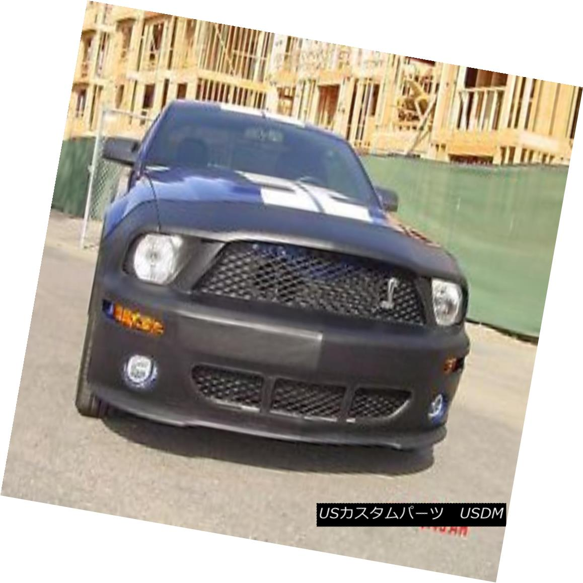 フルブラ ノーズブラ Colgan Front End Mask Bra 2pc. Fits Ford Mustang Shelby GT500 2007-2009 W/O TAG コルガンフロントエンドマスクブラ2pc Ford Mustang Shelby GT500 2007-2009 W / O TAGに適合