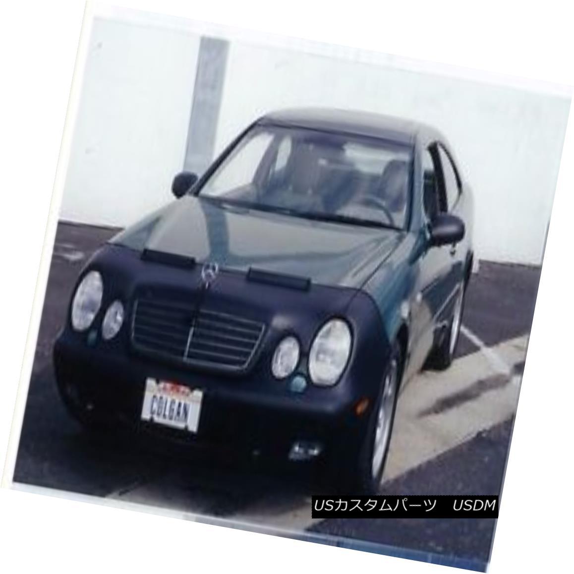 フルブラ ノーズブラ Colgan Front End Mask Bra 2pc. Fits Mercedes Benz CLK320 1998-01 W/O Lic.Plate コルガンフロントエンドマスクブラ2pc メルセデスベンツに適合CLK320 1998-01 W / O Lic.Plate