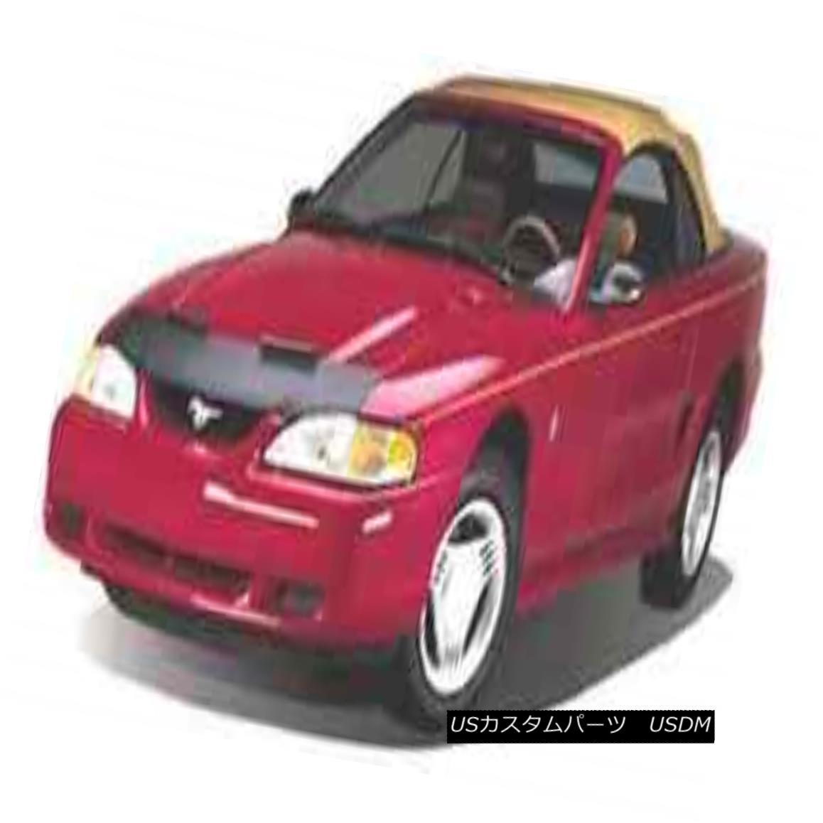 フルブラ ノーズブラ Mini Mask Bra Hood Protector Fits 1995-2002 Chevy Cavalier sedan and coupe ミニマスクのブラジャーのフードプロテクターは1995-2002年に適合しますチェビーCavalierセダンとクーペ