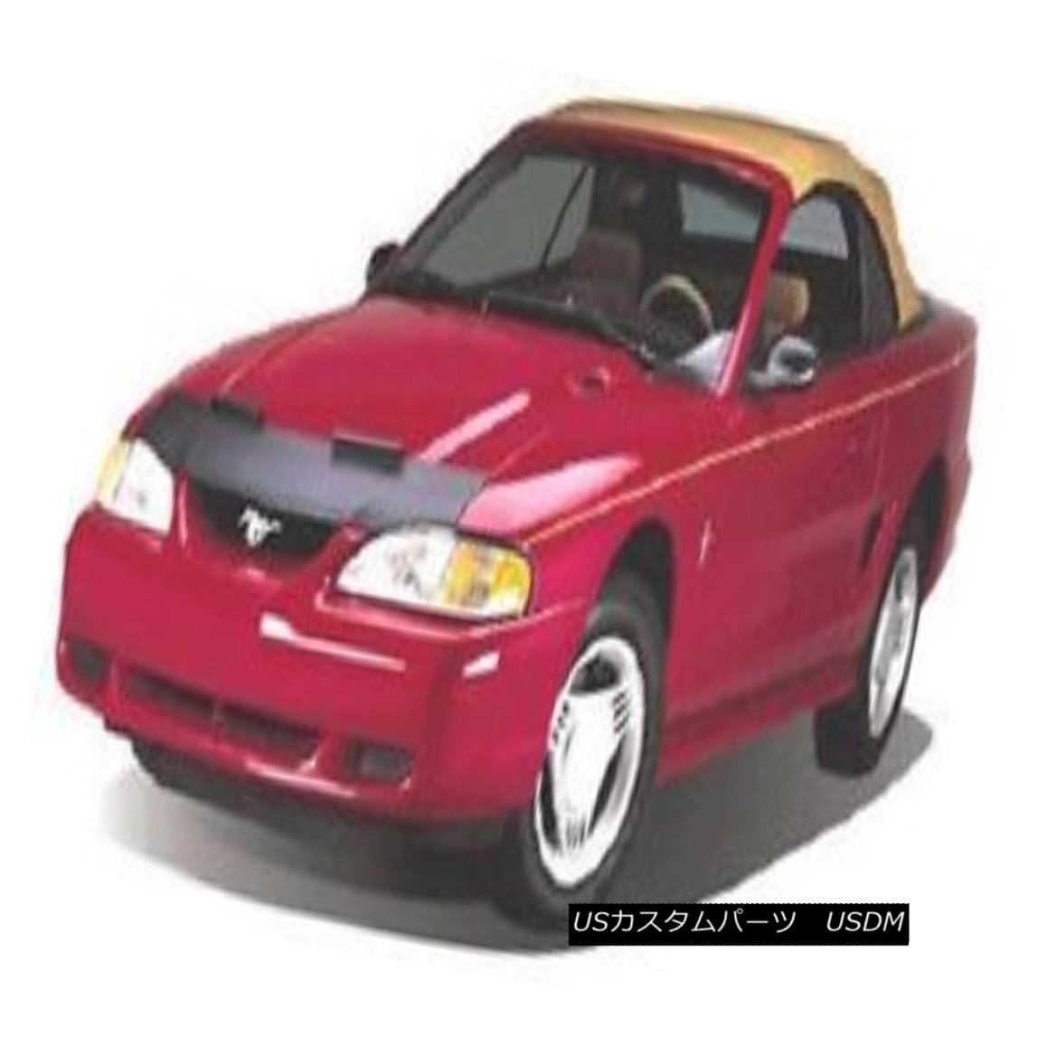フルブラ ノーズブラ Mini Mask Bra Hood Protector Fits Ford Escort (Except GT) 1991-1996 ミニマスクブラジャーフードプロテクターはフォードエスコートに適合(GTを除く)1991-1996