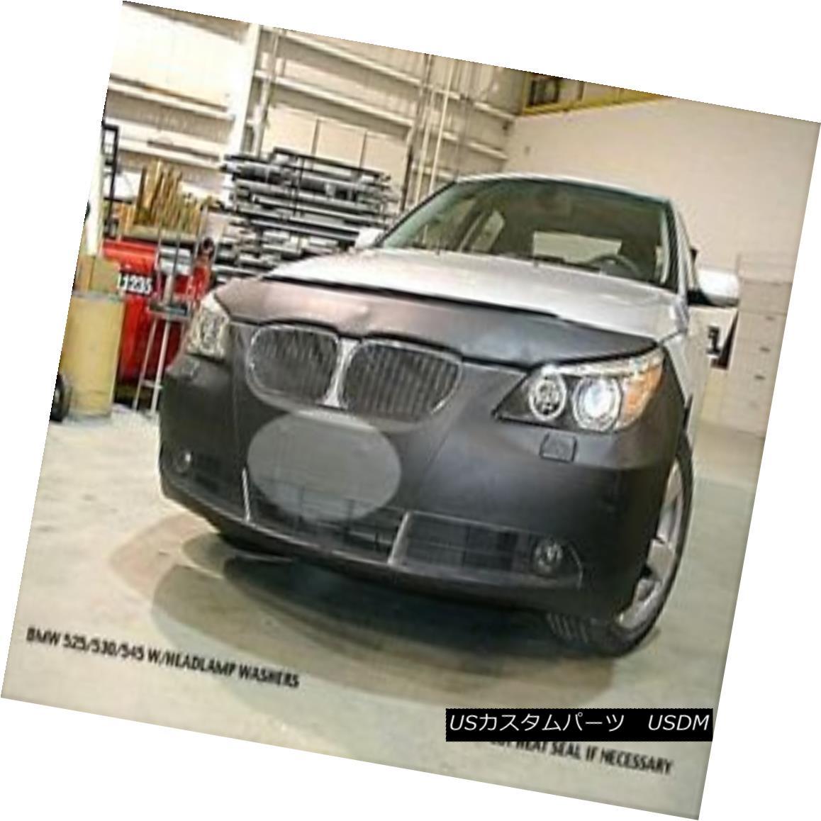 フルブラ ノーズブラ Lebra Front Mask Cover Bra Fits BMW 525i /530i /545i 04-07 w/ Headlight Wipers Lebra Front Mask Cover Bra BMW 525i / 530i / 545i 04-07ヘッドライトワイパー付き
