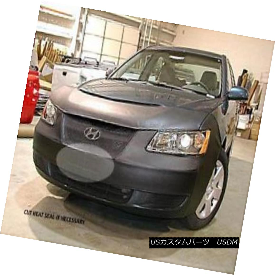 フルブラ ノーズブラ Lebra Front End Mask Cover Bra Fits 2006 2007 2008 06 07 08 Hyundai Sonata (ALL) Lebraフロントエンドマスクカバーブラフィット2006 2007 2008 06 07 08現代ソナタ(ALL)