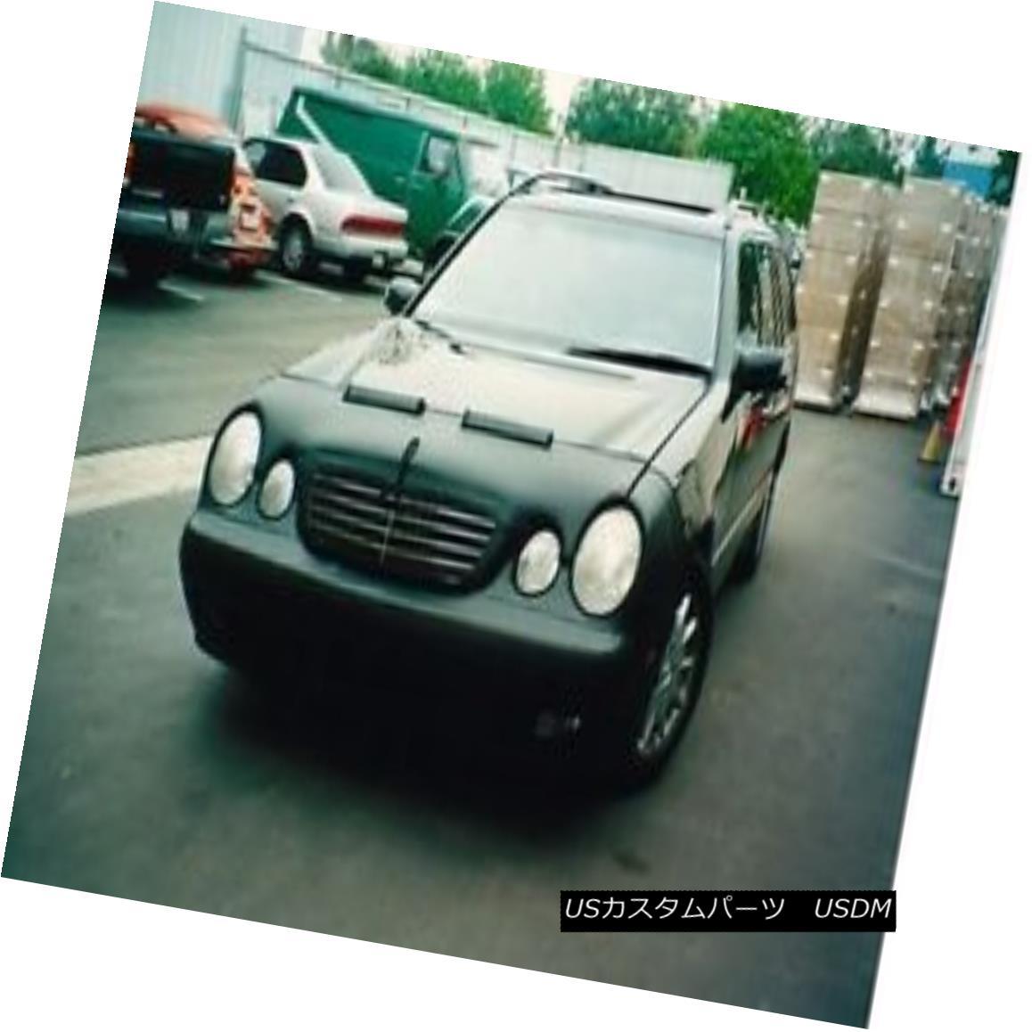 フルブラ ノーズブラ Colgan Front End Mask Bra 2pc. Fits Mercedes Benz E320 2000-2002 W/ Lic.Plate  コルガンフロントエンドマスクブラ2pc メルセデスベンツE320 2000-2002 W / Lic.Plateに適合