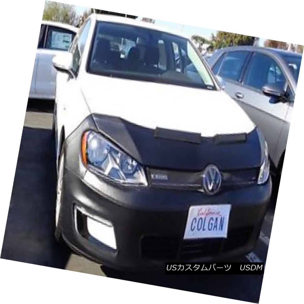 フルブラ ノーズブラ Colgan Front End Mask Bra 2pc. Fits VW E-Golf SE, SEL, Limited 2015-16 W/License コルガンフロントエンドマスクブラ2pc VW E-Golf SE、SEL、限定2015-16 W /ライセンスに適合