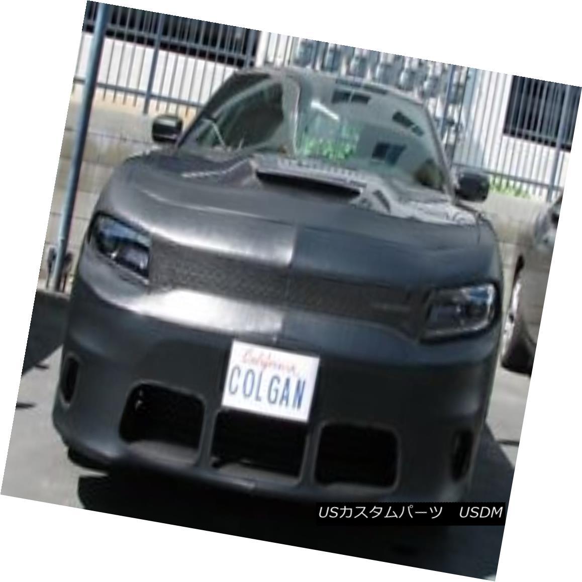フルブラ ノーズブラ Colgan Front End Mask Bra 2pc.Fits Dodge Charger R/T Scat Pk. 2015-2018 W/O Lic コルガンフロントエンドマスクブラ2pc.フィットドッジチャージャーR / T Scat Pk。 2015-2018 W / O Lic
