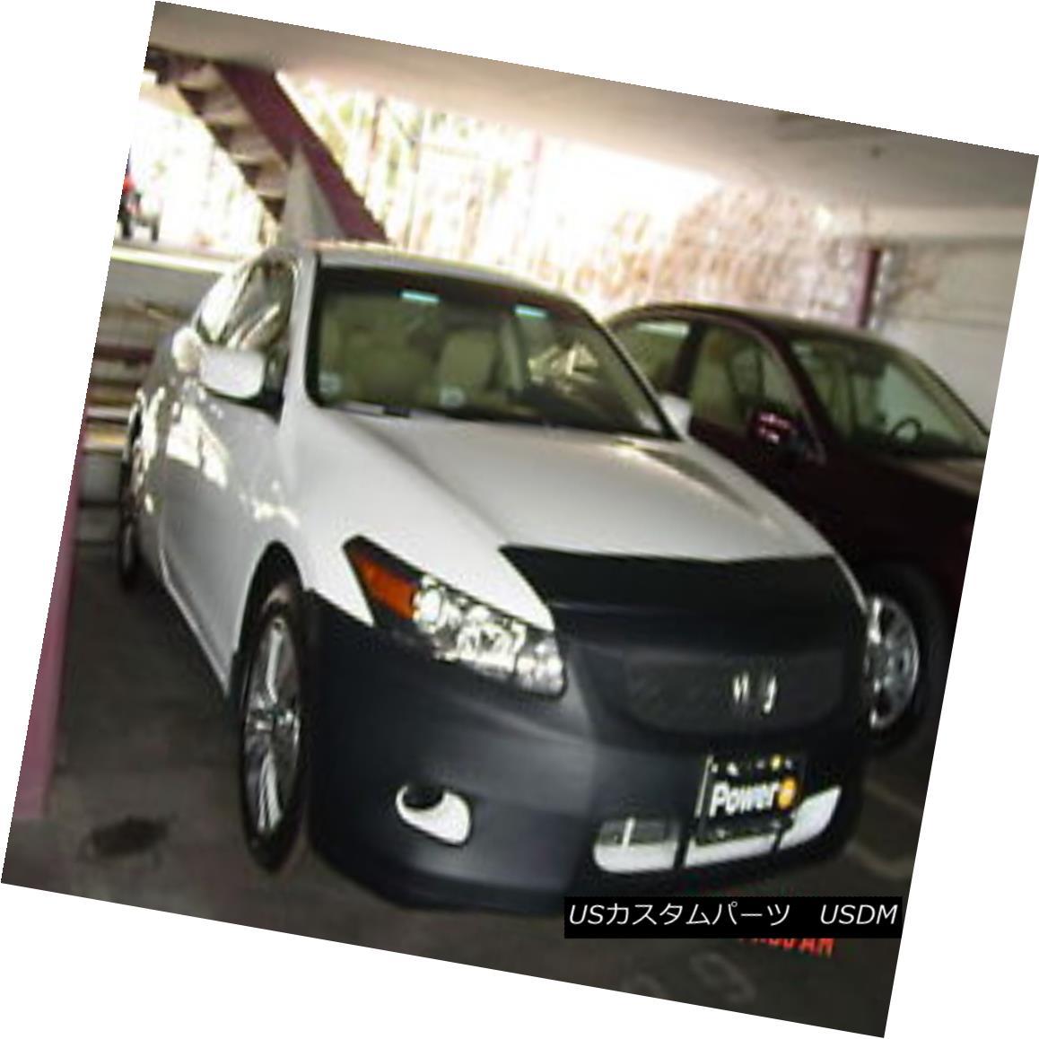 フルブラ ノーズブラ Colgan Front End Mask Bra 2pc. Fits Honda Accord Coupe Without License 2008-2010 コルガンフロントエンドマスクブラ2pc 2008-2010年免許なしでホンダ合意に適合