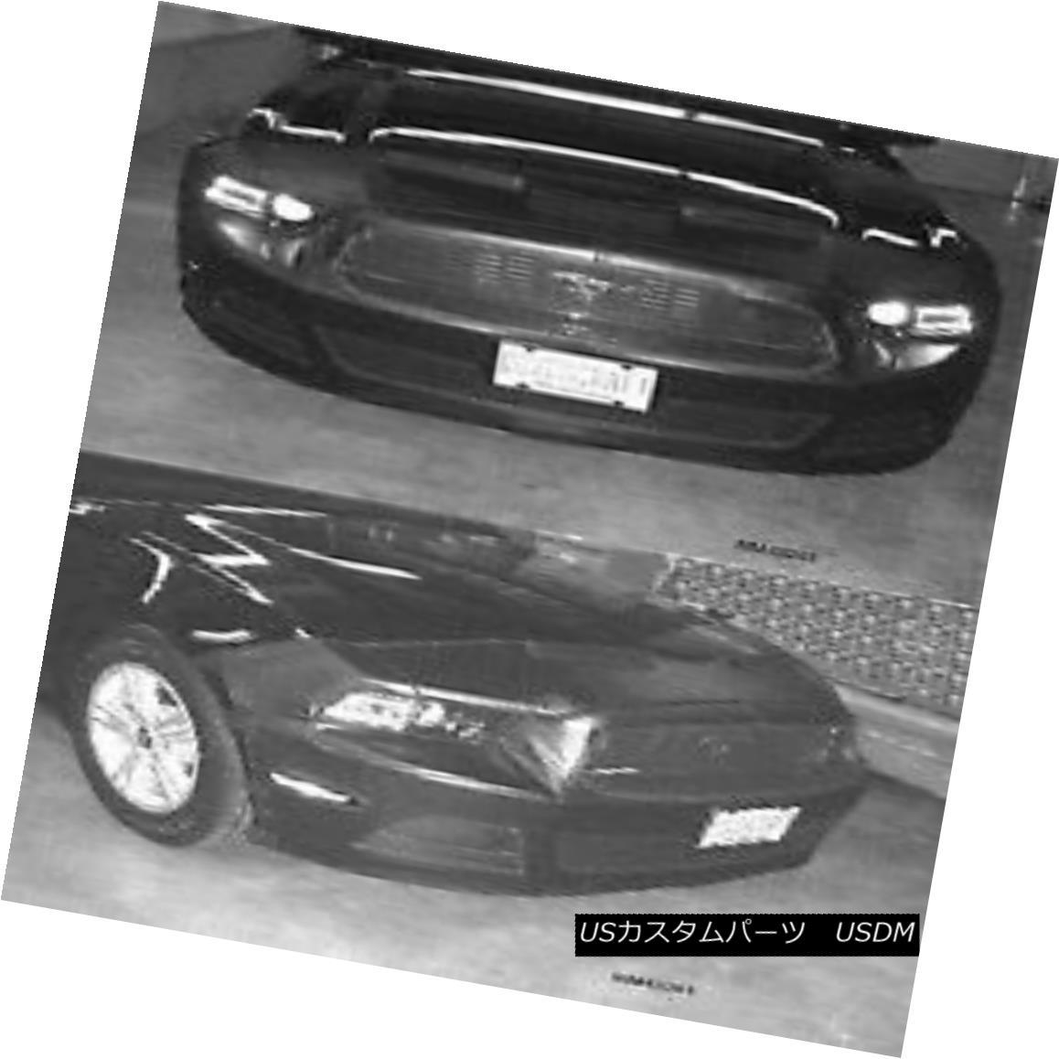 フルブラ ノーズブラ Front End Mask Car Bra Fits 2013 2014 13 14 Ford Mustang フロントエンドマスクカーブラフィット2013年2014 13 14フォードマスタング