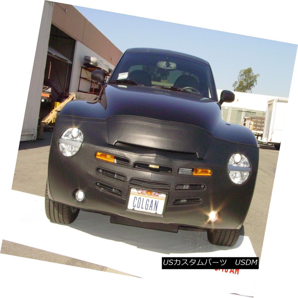 フルブラ ノーズブラ Colgan 2pc. Mask Bra + Mirror Covers Fits 2004-2006 Chevy SSR W/ License Plate コルガン2個。 マスクブラジャー+ミラーカバーは2004-2006シボレーSSR W /ナンバープレートに適合