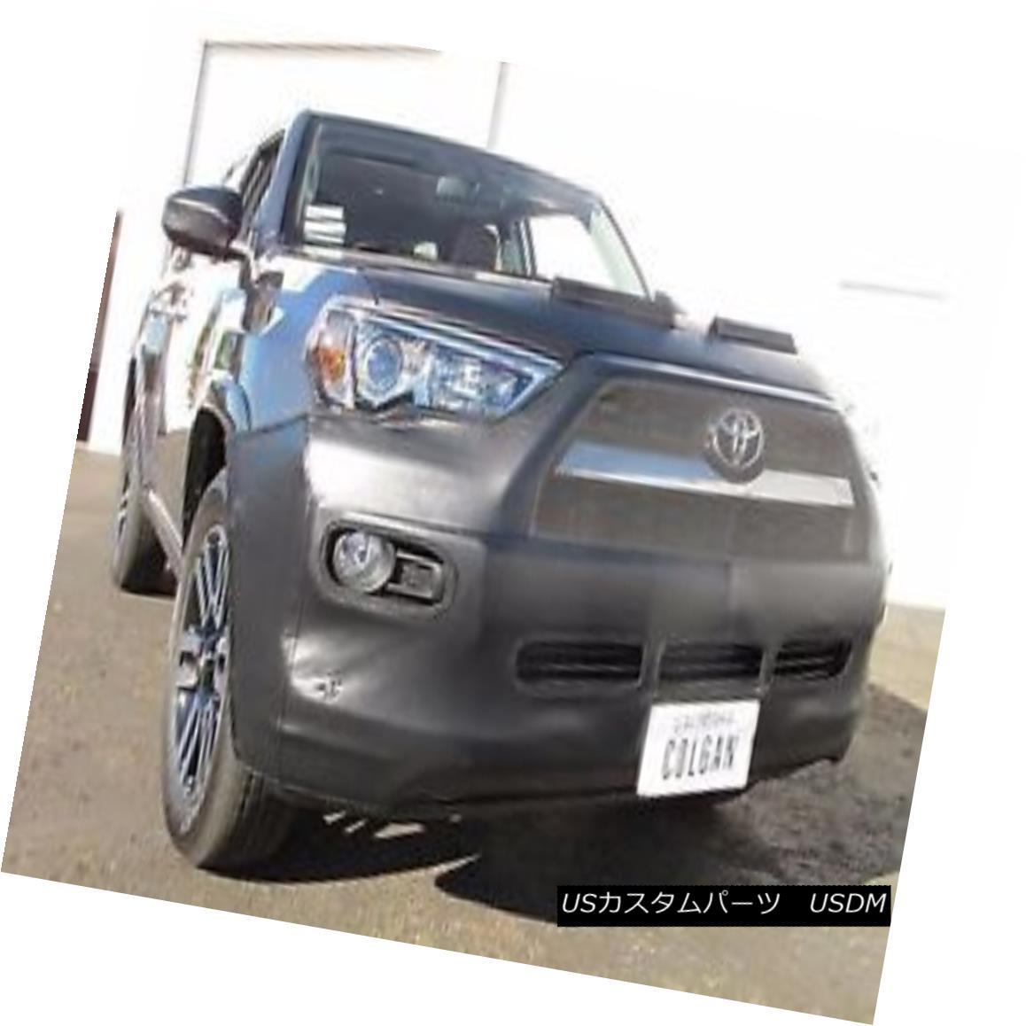 フルブラ ノーズブラ Colgan Front End Mask Bra 2pc. Fits Toyota 4Runner Limited 2014-2016 W/Lic.Plate コルガンフロントエンドマスクブラ2pc Toyota 4Runner Limited 2014-2016 W / Lic.Plateに適合