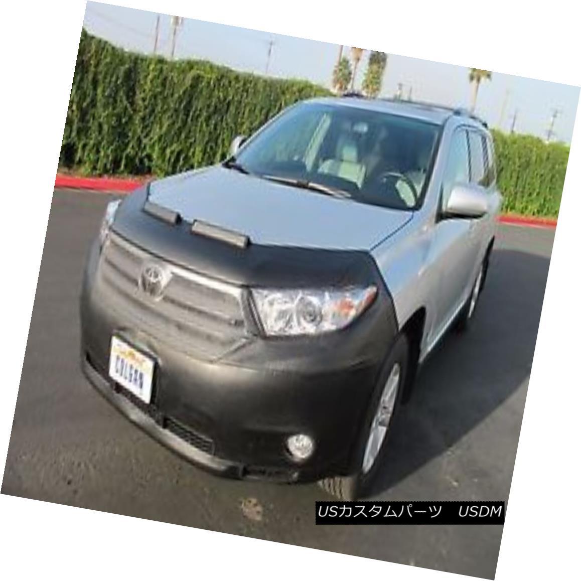 フルブラ ノーズブラ Colgan Front End Mask Bra 2pc. Fits Toyota Highlander 2011-2013 W/O Licen.Plate コルガンフロントエンドマスクブラ2pc トヨタハイランダー2011-2013 W / O License.Plateに適合