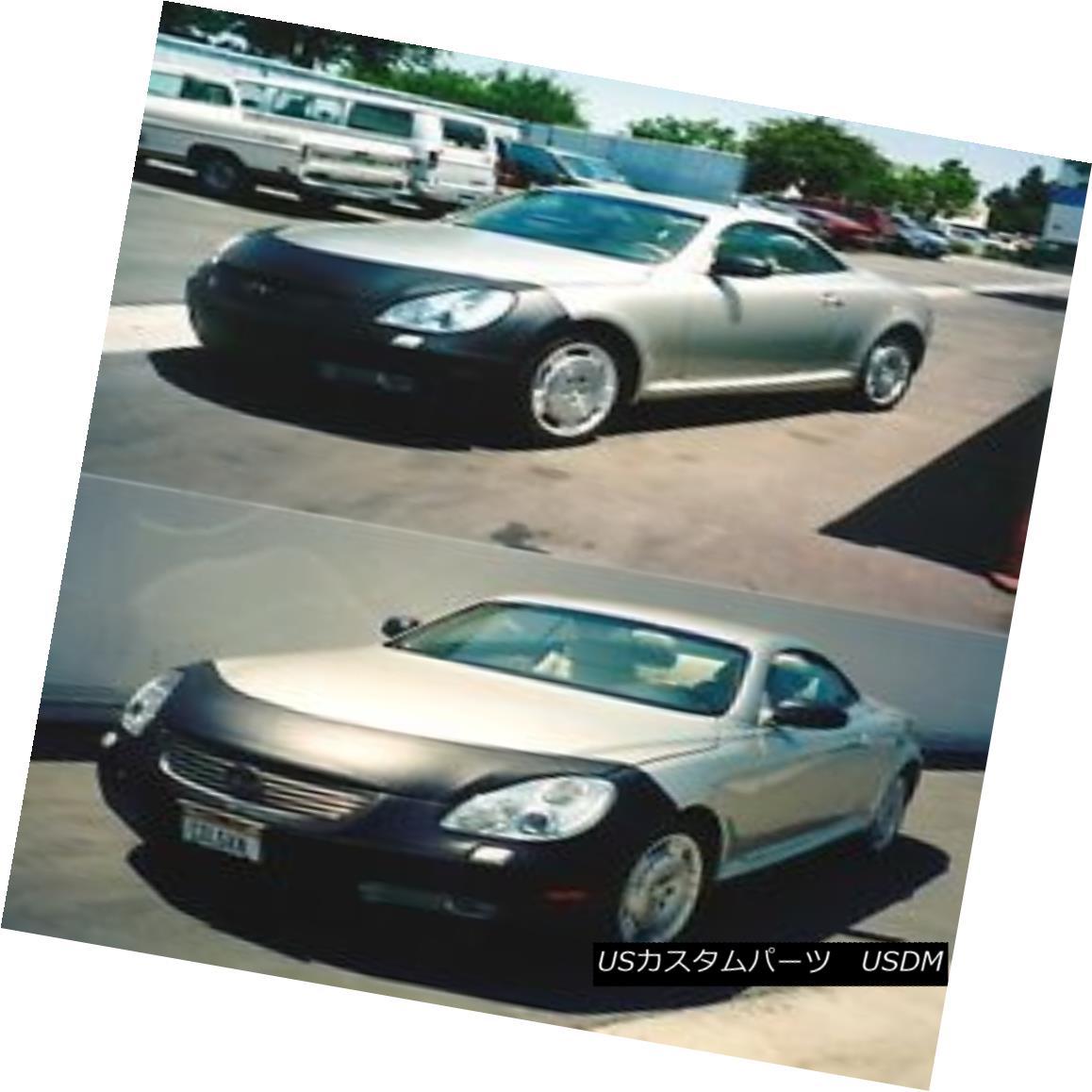 Front Oフロントタグに適合 コルガンフロントエンドマスクブラ2pc Fits Tag End Lexus Mask 2pc. フルブラ Colgan SC430 W/O Bra / SC430 2001-2010 Lexus W ノーズブラ Front 2001-2010